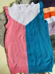 Blusas estilosas nova moda