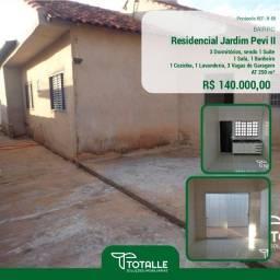 Título do anúncio: Casa para Venda Penápolis / SP Residencial Jardim Pevi II