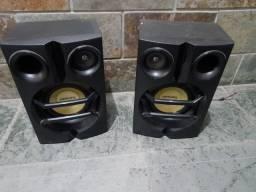 Caixas de som Philips - muito lindas e novas