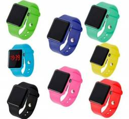 relógio digital de led  varias cores  feminino e masculino<br>