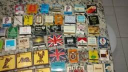 Coleção de caixas de fósforos antigas