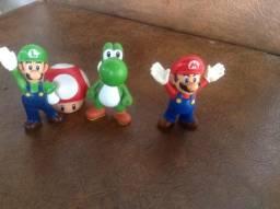 Lote Action Figures Mario - McDonalds