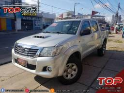 Toyota Hilux 3.0 STD 4X4 CD Turbo Diesel 12/12 é na Top Car! - 2012