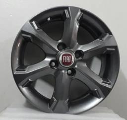 Jogo de Roda 14 Fiat Strada/palio/doblô Locker - 4x98 Avulsa