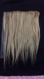 Aplique cabelo humano (3 faixas ) valor à negociar