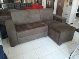 Sofa chaise direto das lojas do rei so 499.00