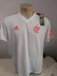 bec9b1b670 Camisa do Flamengo 2018 Treino Branca