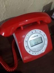 Telefone com fio retrô
