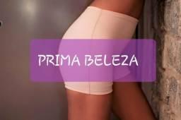 Bermuda modeladora tampa barriga com Forro no Fundo