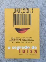 Livro O Segredo De Luísa Fernando Dolabela 15ª Edição Ano 2004 Editora Cultura Impecável!