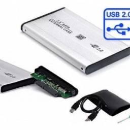 Case HD de gaveta 2.5 USB 2.0 / 3.0 - Lehmox