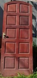 Porta colonial  macissa com  fechadura de 80 Centímetros