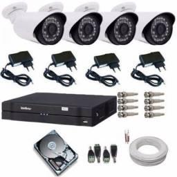 Instalação e manutenção de câmeras de segurança (CFTV)