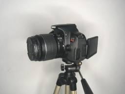Camera Canon T4i com Tripé