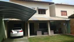 CA1298 Casa duplex com 4 quartos, 4 vagas de garagem, projetada, Guaribas - Eusébio