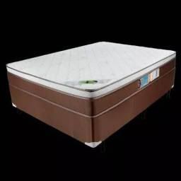 Colchão + base box casal caribe F526