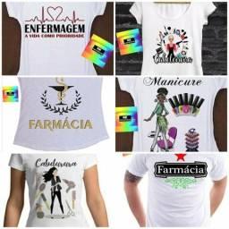 Camisetas personalizadas profissão