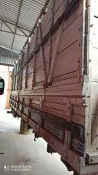 Carroceria com sobre grade boiadeira (gaiola) 6 metros