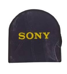 Porta-CD/DVD/BD Sony (jeans) 24 discos