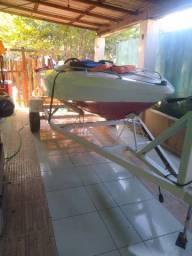 Barco completo de fibra
