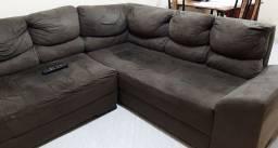 Sofá formato L 2 peças