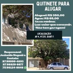 Kitnet para alugar no Quati 1 por R$ 350,00