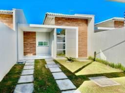Casa plana em rua privativa com 3 quartos ao lado do centro do Eusébio!