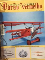 Aeromodelo Barão Vermelho 1/8 - 96 Fascículos Coleção