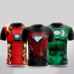 Artes para Sublimação de 25 Super-heróis