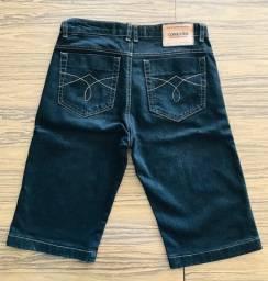 Calção Jeans Masculino