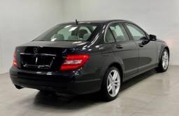 Mercedes c-180 1.8 turbo 2012 impecável. léo careta veículos