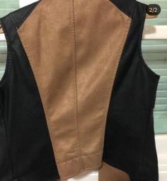 Colete de couro Polo Wear