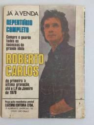 Repertório de modinhas Roberto Carlos 1979