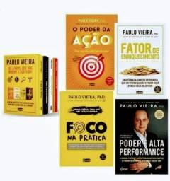 Kit com 6 Livros de Paulo Vieira (PhD) promoção imperdível