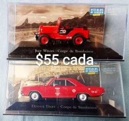 Miniaturas de Carrinhos Veículos de Serviço do Brasil Lote 1