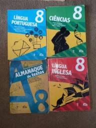 Livros do 8ano Escola Adventista