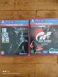 Torro Jogos PS4. The last of us e Gran Turismo