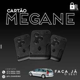 Cartão Megane Renault