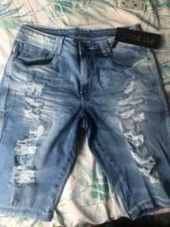 Bermuda jeans original da pitbull nunca usada