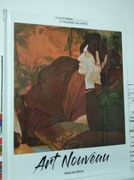 Arte Nouveau coleção O Mundo da Arte Folha de SP