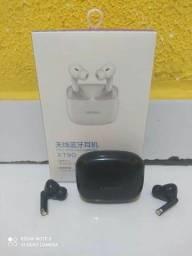 Fone Bluetooth Original Lenovo Preto Excelente Qualidade