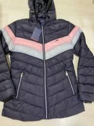 Jaqueta feminina da Tommy e Abercrombie
