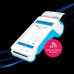 Maquina de Cartão Point Smart Imprime comprovante Lançamento