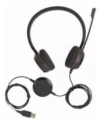 Fone De Ouvido Jabra Evolve 20 Ms Stereo Black