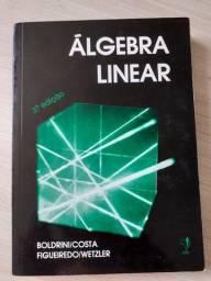 """Livro """"Álgebra Linear"""" em ótimo estado"""