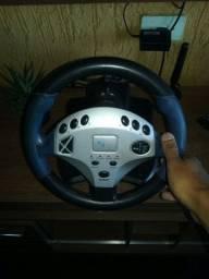Volante+Pedal+Câmbio Ps2, Ps3, Xbox360