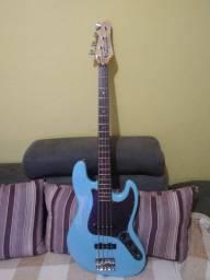 Baixo Jazz Bass washburn