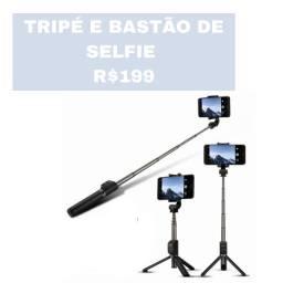 Tripé e bastão de selfie Honor Hauwei