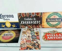 Quadros decorativos para bar e boteco