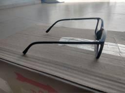 Armação óculos azul